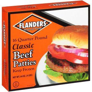 flanders beef patties