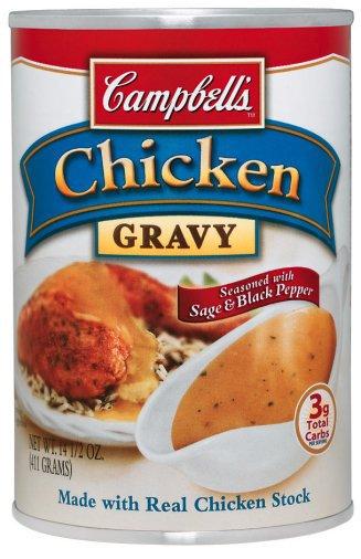gampbell's chicken gravy