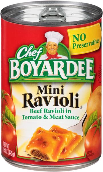 boyardee mini ravioli