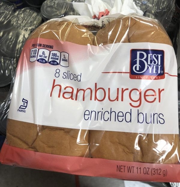 hamburger enriched buns