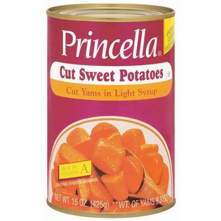 princella sweet potatoes
