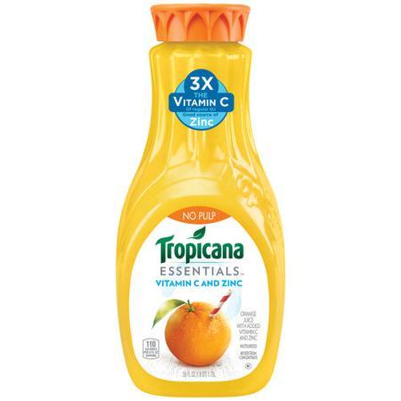tropicana vita c and zinc
