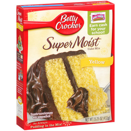 betty crocker super moist yellow