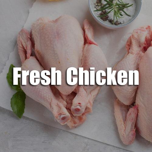 Sunshine Supermarkets  fresh chicken menu