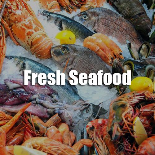 Sunshine Supermarkets fresh seafood menu