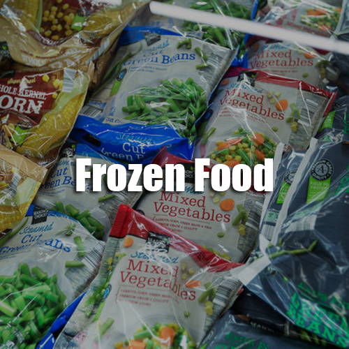Sunshine Supermarkets frozen food menu