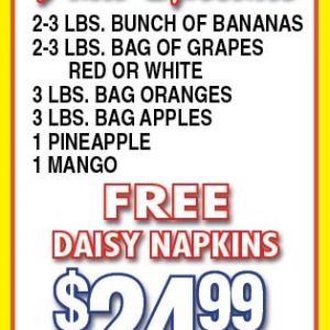 fruit specials