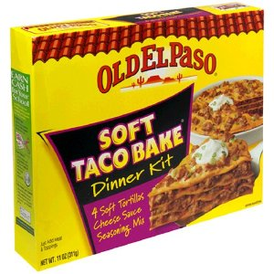 old elpaso soft taco bake