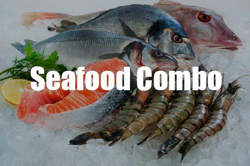 seafood combo menu
