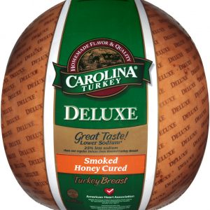 carolina turkey deluxe smoked honey cured