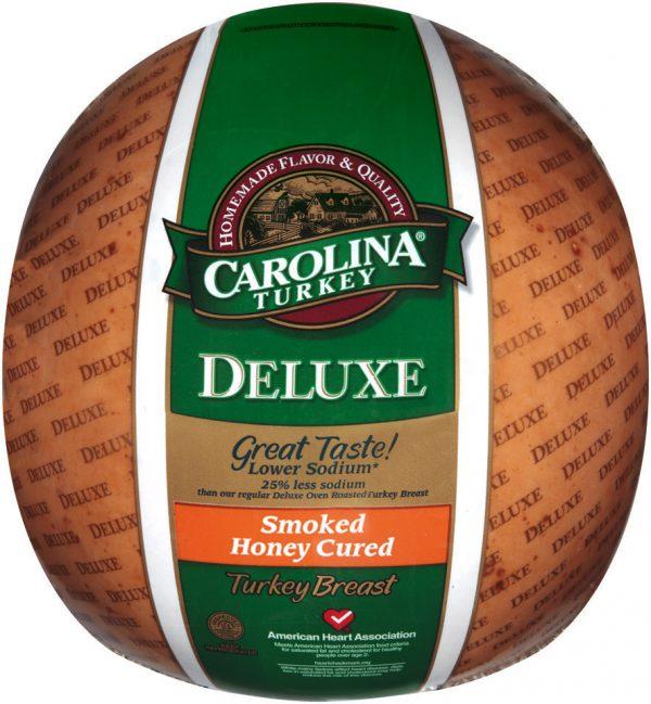 carolina turkey deluxe smoked honey cured