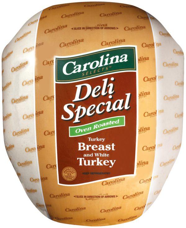 deli special turkey breast and white turkey