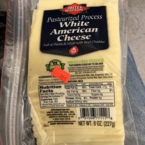 dietz & watson white american cheese