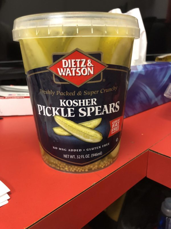 dietz & watson kosher pickle spears