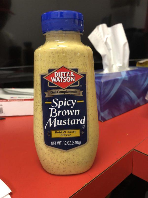 dietz & watson spicy brown mustard